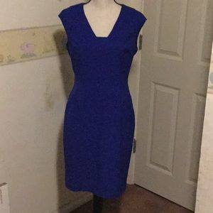 Classy royal blue CK dress